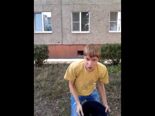 Ice Bucket Challenge by Женя Беляков