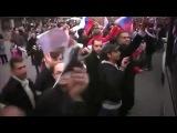 Улицы Дамаска,когда Россия с Китаем против всего мира,отстояли и наложила имбарго на воздушный