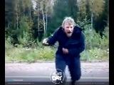 Леший танцует под DJ Рига feat. MC Жан -