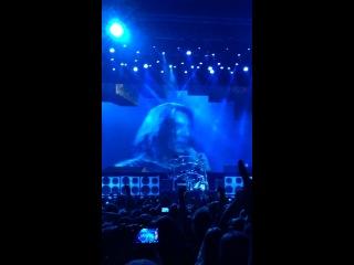 Manowar 21.03.14 - Джоуи ДиМайо произносит речь на русском языке