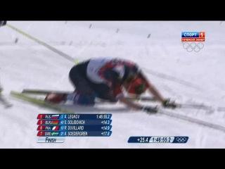 Триумфальный финиш российских лыжников в марафоне