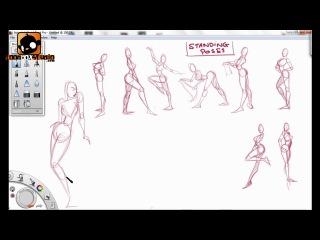 "How to draw ""cherry"" by paris christou (видео-курс по рисованию в стиле pin-up) / 2 часть"