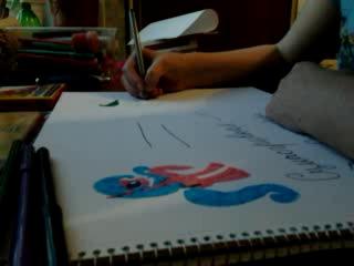 Как нарисовать пони Сумасгривная