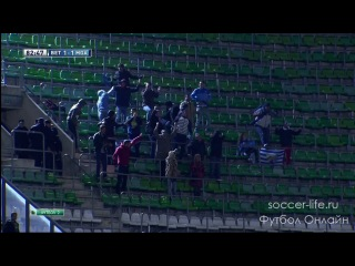 Бетис 1 - 2 Малага. Испания. Примера. 31 тур