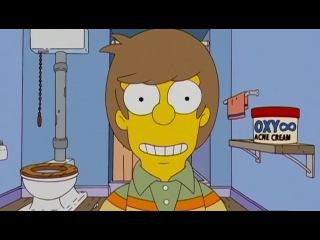 Homer's life in 2 minutes - Жизнь Гомера Симпсона за 2 минуты [HD]