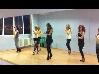 Стрип Пластика в Студии Танцев Кокетка (тренировка)