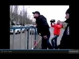 Пьяный поехавший ватник-дедовоеватель Луганск 12.04.2014