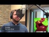 Парень поёт голосами героев Disney и Pixar