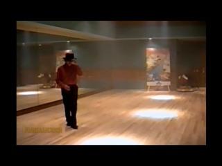 Майкл Джексон репетирует