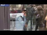 Ким Кардашян и Серена Уильямс совершают покупки в Париже 30/04/14