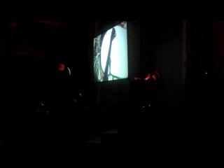 Центральный музей связи им А.С. Попова (Ночь музеев 2014) - рисунки на песке!