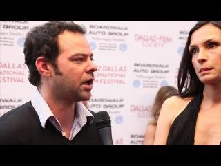 Фамке Янссен на кинофестивале в Далласе (2012 год)