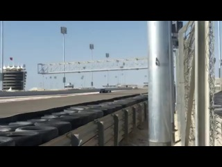 F1 2014 Bahrain Test Day 8 (Mercedes AMG F1 & Williams F1 Team In Action)