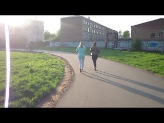 Сыктывкар - бегущие по стадиону девушки