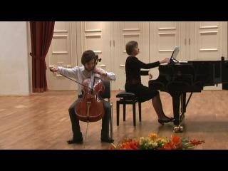 Аким Игоревич Коркин (Обнинск) Франсуа Франкёр - Соната для виолончели и фортепиано