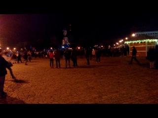 Что творится в Харькове 22.02.14. часть 4