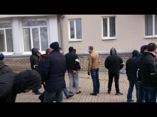 Ответ Донецка бендеровской чуме. Оборона Донецка 2014-02-23