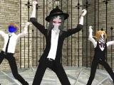 MMD(Creepypasta)Jeff,Ben,Jack-Gentleman.(By.Анастасия Борщ)