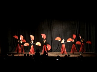 концерт - ролик 6: Вдохновение, Поздравление Ани и Насти, Веера , Огонь , ФИНАЛ