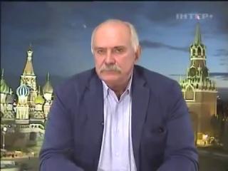 Никита Михалков на известном Украинском политшоу - Ответ националисту (30.12.2013)