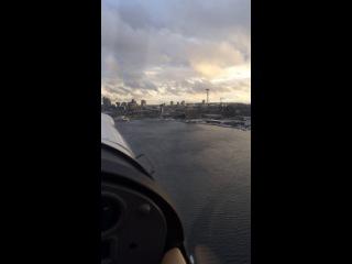 Аренда гидро-плана. Graet lake-Union lake-Seattle,Washington