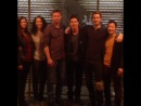 The Tomorrow People - 1x17 ep. on the set with all cast