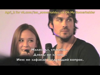 Ian&malese panel in barcelona may 2014 part 1