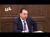 Руководитель администрации президента Армении Виген Саркисян в парламенте 27 мая 2014 года