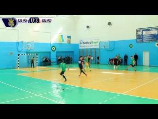 Футбол ЗОШ 26 - ЗОШ 27 Рівне 1/2 фіналу