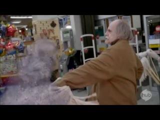 R. L. Stine's The Haunting Hour S03E02 Grampires Clip 5