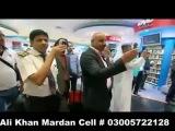 Dance on Pakistani music at Dubai airport