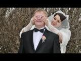 Анна и Андрей  фото коллаж из свадебных фото