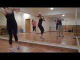 ZUMBA fitness with Olga Khuraskina (Electro House)