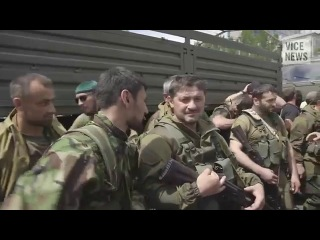 Мы из Чечни приехали [что-то] защищать