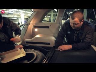 Монтаж фаркопа WESTFALIA на а/м Opel Antara