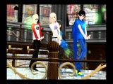 [MMD]Homestuck(John Egbert,Rose Lalonde,Dave Strider,Jade Harley) - Bad-End-Night