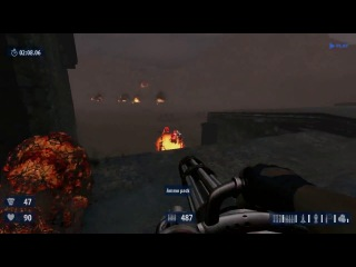Serious Sam HD The Second Encounter Survival - Bear City Gameplay