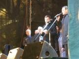 Крым стал Россией - объявление предварительных результатов голосования