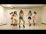 [waveya korean dance] азиатки танцуют под gangnam style~1