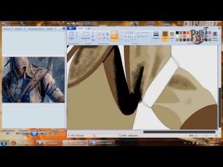 Малювання Асасина с Асасин Крид 3