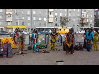 Индейцы в Уфе  13 и 15 августа 2014 округ Галле (24)