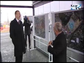 Həsən Əliyev küçəsi-Ziya Bünyadov prospekti-Olimpiya Stadionu avtomobil yolu ilə tanışlıq