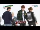 140430 BTS Weekly Idol- Jungkook, Jimin J-Hope Girl Group Dances