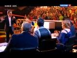 Виталий Гогунский в образе Валерия Меладзе на шоу