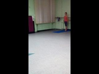 Шутя рандат-два фляка (треша без тренера)+пение Черкашеной=D