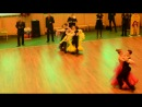 Танго. Кубок Мэра Северодвинска по спортивным бальным танцам. 06.04.2014г.