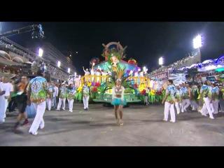 Seis escolas encerram o carnaval do Grupo Especial do Rio