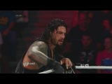 (WWEWM) WWE Monday Night RAW 14.07.2014 - John Cena & Roman Reigns vs. Kane, Randy Orton & Seth Rollins (3-on-2 Handicap Match)