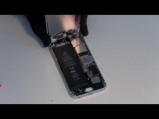 http://vk.com/proactionsu Ремонт iPhone 5  Замена кнопки home