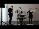 Mozart , KV 498 , trio es dur (klavier , klarinette , viola . Kegelstatt trio (andante)